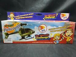 Stunt Copter Helicopter Toy Flies Without Batteries Ages 8 amp; Up Easy Assembly $10.00