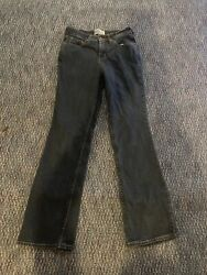 Levis Signature Womens At Waist Bootcut 2% Elastane Blue Jeans Misses 4 Medium $4.99