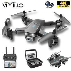 New 2020 Drone With 4K Professional HD Dual Camera Foldable RC Quadcopter WIFI $74.99