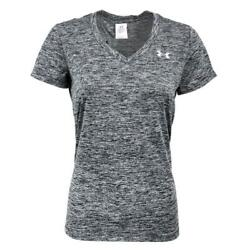 New With Tags Womens Under Armour Twisted Tech V Neck Tee Shirt Top $15.00