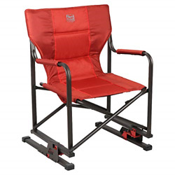 """Timber Ridge Mulberry Outdoor Bounce Chair Fiery Red 21""""W x 15""""D x 35.5""""H $111.44"""
