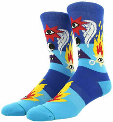 STANCE x Richard Cavolo Shooting Star Socks M MEDIUM 6 8.5 NEW $14.99