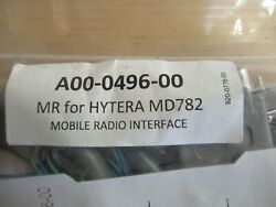FireCom A00 0496 00 MR for Hytera MD782 Mobile Radio Interface $99.99