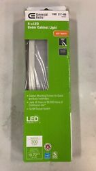 Commercial Electric 9 in. LED White Under Cabinet Light