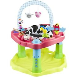 Evenflo Exersaucer Bounce amp; Learn Activity Center Moovin amp; Groovin Multicolor $82.85