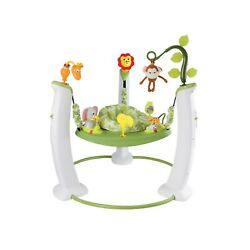 Evenflo ExerSaucer Jump amp; Learn Stationary Jumper Safari Friends New $89.99