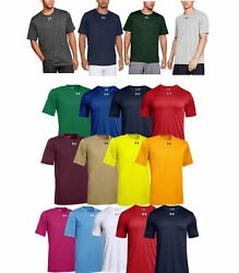 Under Armour 1305775 Men#x27;s UA Tech Locker 2.0 T Shirt Short Sleeve Athletic Tee $15.95