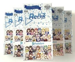 Hololive ReBirth For You Bushiroad TCG Japanese Booster Box New Sealed US SELLER $54.99