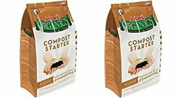 Jobe#x27;s Organics Compost Starter Fertilizer 4 lbs 2 Bag $32.99