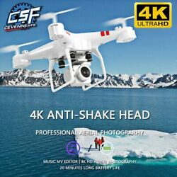 Drone 4k HD wide angle 2020 camera HD Wifi Transmission Aircraft Helicopter $66.25