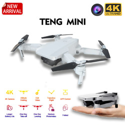 TENG MINI KF 609 Drone 4K HD Camera Wifi FPV Stable Height Fly Quadcopter Bundle $78.88