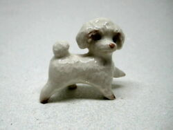 Hagen Renaker miniature Made in America Toy Poodle Pup Dog $8.99