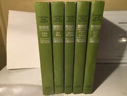 FIVE VINTAGE 1950#x27;S LOUISA MAY ALCOTT SERIES HARDBACK BOOKS VGC $30.00