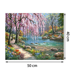 DIY Paint By Numbers Kit Digital Oil Painting Canvas Art Wall Scenery Home Decor $7.59