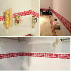 2Rolls 39quot;x3.9quot; Mosaic Wall Stickers Decor Tile Home Kitchen Bathroom Adhesive $7.88