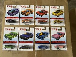 Hot Wheels 2020 Flying Customs Target Exclusive New Case Set of 8 Cars $40.00
