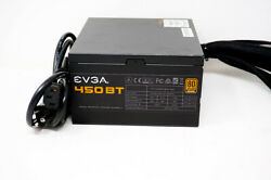 EVGA 450 BT 450W Power Supply PSU w All Cables $39.97