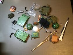GI JOE VINTAGE PARTS AND ACCESSORIES LOT $75.00
