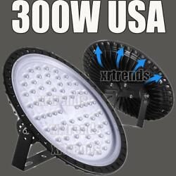 300W UFO LED High Bay Light Shop Lights Bulb Warehouse Commercial Lighting Bulb