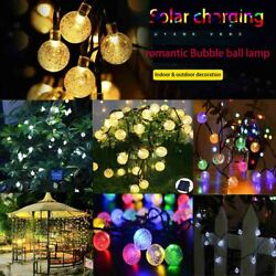 23FT 50LED Solar Waterproof Wire String Fairy Light Strip Lamp Party 8 mode $10.99