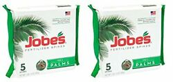 Jobe's Palm Tree Fertilizer Spikes 10 5 10 Time Release Fertilizer for All Outdo $32.99