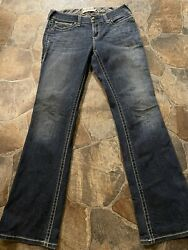 Ariat R.E.A.L. Womens Low Rise Boot Cut Jeans 31x35 $49.99