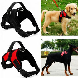 No Pull Dog Pet Harness Adjustable Control Vest Dogs Reflective S M Large XL $8.79