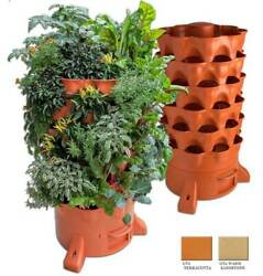 GARDEN TOWER 2 Vertical Vermicomposting 50 Plant Patio Farm Greenhouse Balcony $369.99