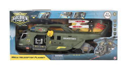Soldier Force Playset Mega Helicopter Playset $45.88