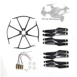 NEW Drone S60 Profession Quadcopter Spare Parts Gears Guard Motors Engines kit $11.80