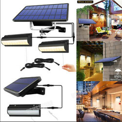LED Solar Power Garden Wall Lights Balcony Patio Outdoor Lamps with Pull Switch $13.29