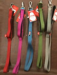 Dog leashes Kong comfort padded handle traffic 4 ft. leash many colors .🐾new $16.99