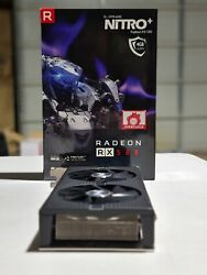 SAPPHIRE Nitro Radeon RX 580 4GB Graphics Card Excellent Condition GPU $199.99