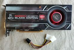 XFX AMD Radeon HD 6870 GPU graphics card 1GB GDDR5 tested FREE SHIP $39.00