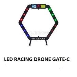 Racing LED Drone Gate for indoor Mini Drones Gate C size : 375*385 mm $29.99