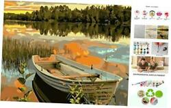 Paint by Numbers DIY Canvas Oil Painting Kit for Adults Kids Beginner Ls2097 $22.84