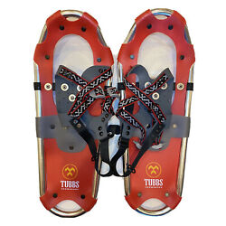 """Tubbs Snowshoes Quick Draw 19x7"""" Red Aluminum Youth Kids Junior $65.00"""