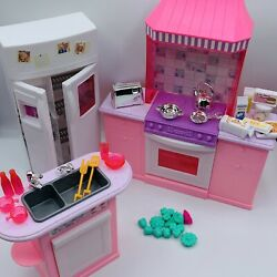 Barbie Mattel Kitchen For Folding Pretty House and Accessories Vintage 1997 90s $44.99