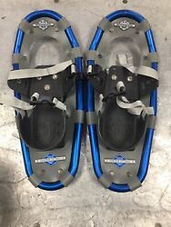 LL Bean Winter Walker 16 Snowshoes Blue Gray Snow Shoes $49.99