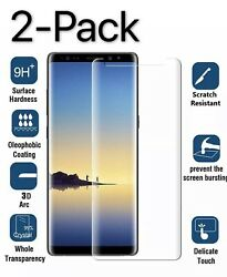 2Pack Tempered Glass Screen Protector For Samsung Galaxy S7 S9 S8 Plus Note 8 9 $5.99
