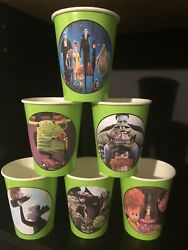 Hotel Transylvania Birthday Party Pack 12 Cups PLAIN plates PLUS party hats $17.99