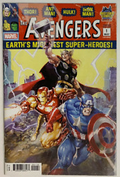 Avengers #1 CLAYTON CRAIN Midtown VARIANT Cover $14.99