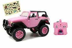 Pink Jeep Toy Remote Control Girls Power Vehicle Car Model Kids Gift 1 16 Scale $60.58