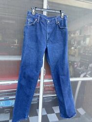 Levi#x27;s 557 For Cowboys Cotton MADE USA Blue Jeans Tag 31X32 MEASURED 30X30 $16.89