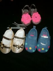 Summer Girl Shoes 3 9 Months Lot $5.50