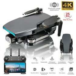 SG108 DM001 4K GPS 5G Brushless Foldable RC Quadcopter FPV Dual Camera Drone $125.99