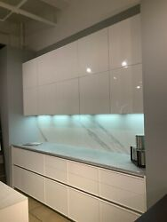 Custom Italian high end kitchen cabinets and countertop for sale $8000.00