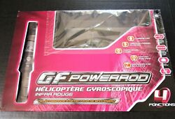 Gyroscopic Helicopter Remote Control GF Powered Range 10 Meters From France NEW $55.00