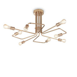 Ceiling Vintage Brass Aged 8 Lights Triumph pl8 $781.09