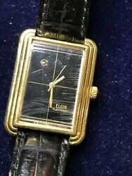 Vintage Elgin Electronic Watch Mens for Parts Repair Working $24.99